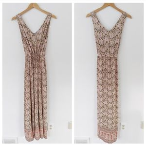 NWT Lucky Brand Floral Bohemian Maxi Dress